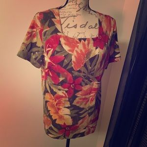 Alfred Dunner Blouse Small